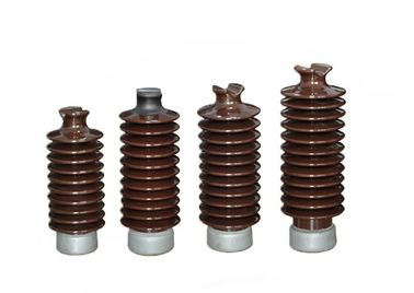China 12KV High Voltage Electrical Ceramic Insulators Safe With High Efficiency factory